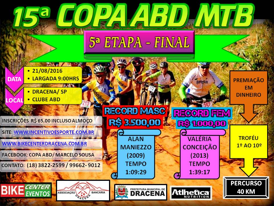 5º Etapa 15º Copa ABD Bike Center de MTB